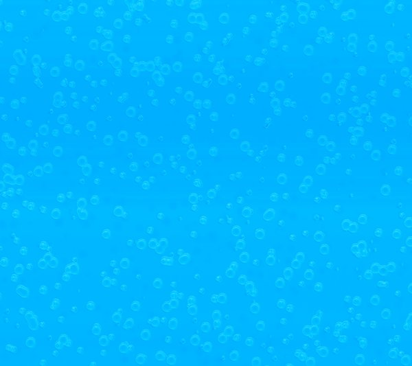 Bubbly Background Blue: Effervescent, bubbly background, texture or fill.