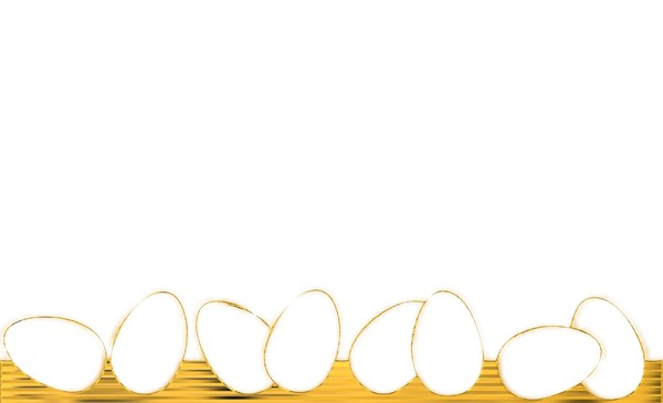 Golden Egg Border: A golden Easter egg border or banner. You may prefer:  http://www.rgbstock.com/photo/mjE69CS/Easter+Background+2  or:  http://www.rgbstock.com/photo/nTBxpKO/Easter+Card+1