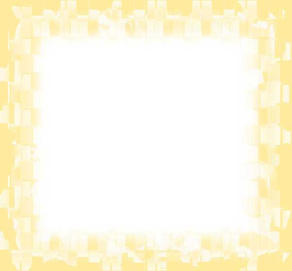 Grungy Geometric Frame 7: A grungy yellow geometric vignette frame fading to white. Use within the image licence or contact me.