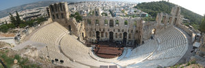 Ancient greek theatre: Ancient greek theatre in Athens in Acropolis