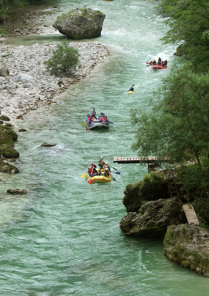 Rafting on river Salza: Rafting on river Salza, Austria