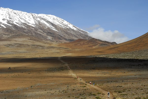 Way to Kilimanjaro: way to reach Kibo Hut which is the last camp before summit