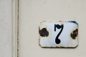 Number 7: House number 7