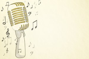 Microphone illustration: free style microphone illustration