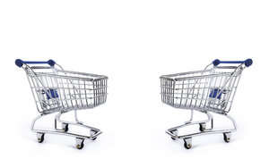 supermarket trolleys: trolley